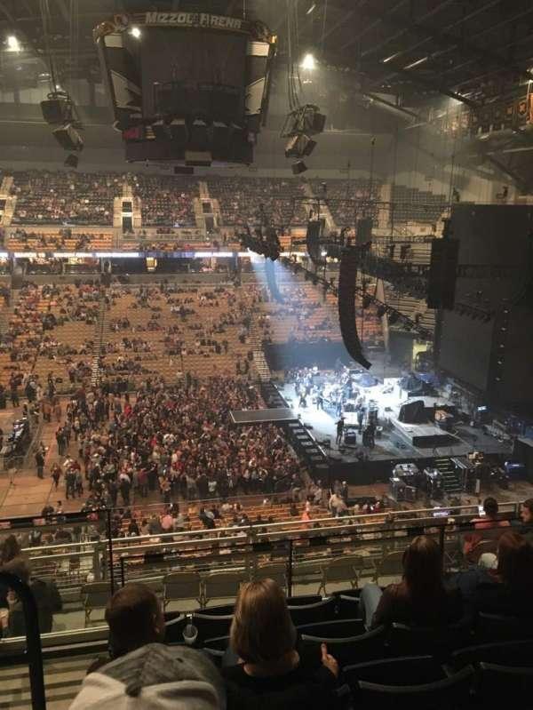 Mizzou Arena, section: 215, row: 6, seat: 14