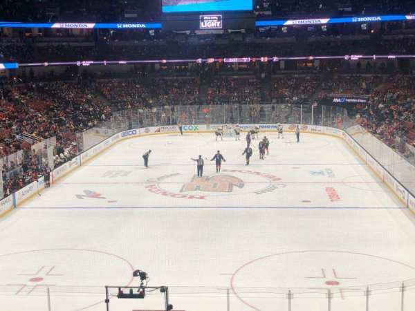 Honda Center, section: 326, row: A, seat: 10