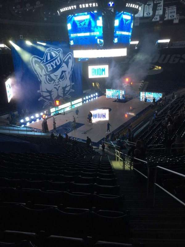 Marriott Center, section: 13, row: 26, seat: 1