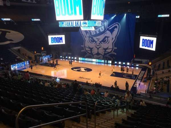Marriott Center, section: 7, row: 24, seat: 17
