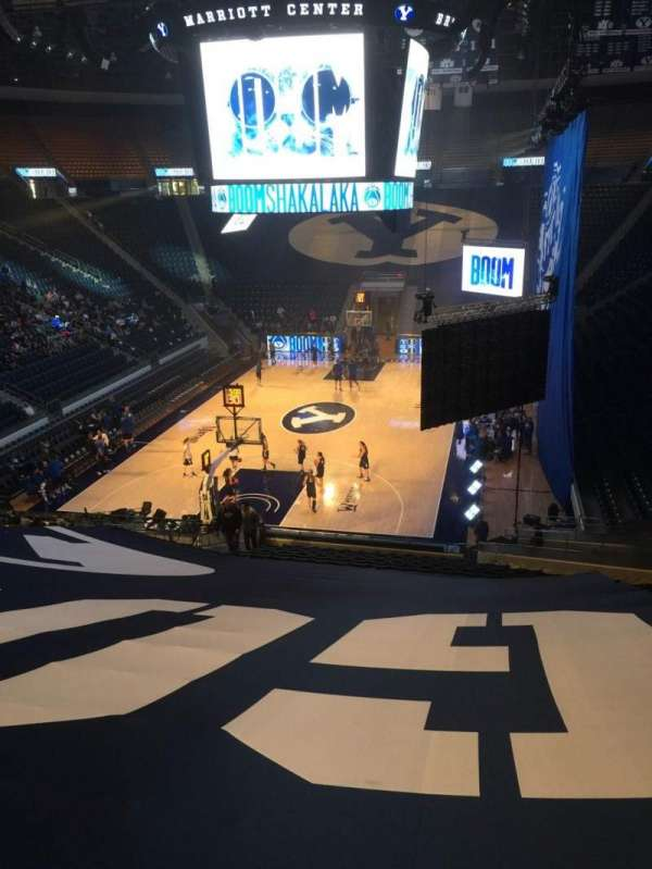 Marriott Center, section: 3, row: 25, seat: 3