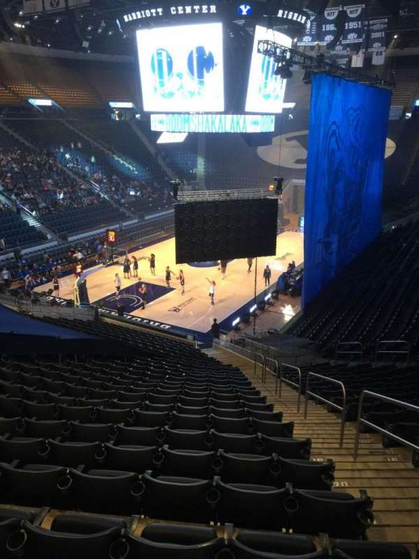 Marriott Center, section: 2, row: 25, seat: 3