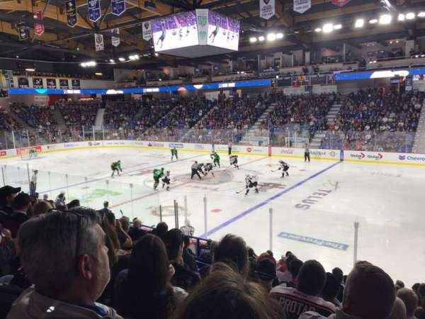 Langley Events Centre, section: R, row: 12, seat: 9