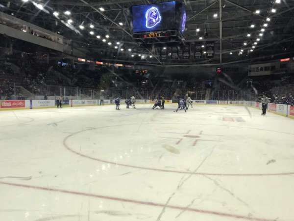 Paramount Fine Foods Centre, section: 16, row: A, seat: 7