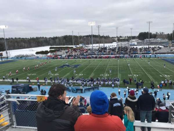 Alfond Stadium, section: BB, row: 3, seat: 24