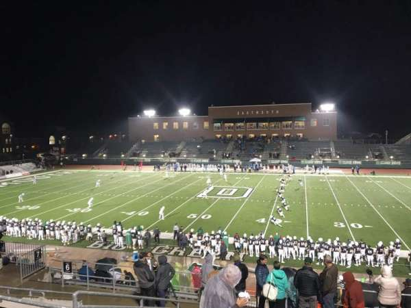 Memorial Field (Dartmouth), section: 5, row: KK, seat: 18