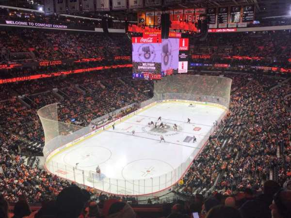Wells Fargo Center, section: 209, row: 8, seat: 9