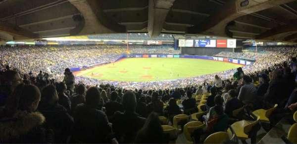 Olympic Stadium, Montreal, section: 419, row: AA, seat: 15