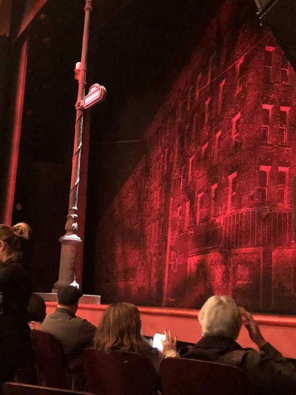 Longacre Theatre, section: Orchestra Right, row: D, seat: 26