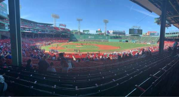 Fenway Park, section: Grandstand 16, row: 5, seat: 20
