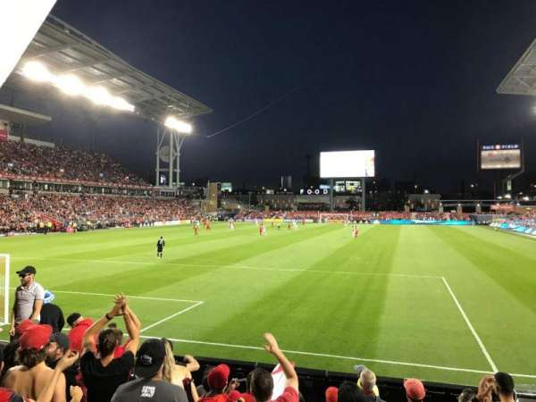 BMO Field, section: 114, row: 7, seat: 10