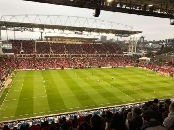 BMO Field, section: 209, row: 16, seat: 29