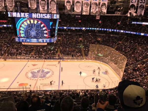 Scotiabank Arena, section: 308, row: 12, seat: 22