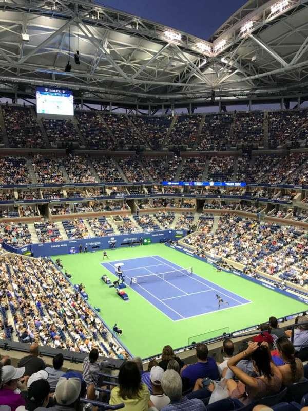 Arthur Ashe Stadium, section: 134, row: H, seat: 8