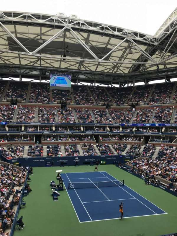 Arthur Ashe Stadium, section: S-247, row: 2