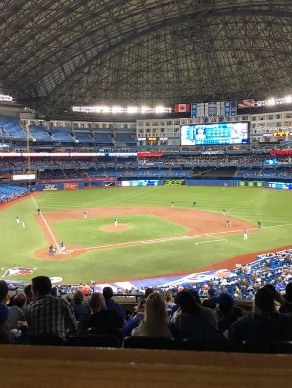 Rogers Centre, section: 222R, row: 10, seat: 3