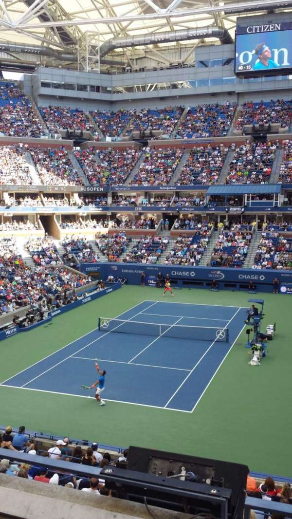 Arthur Ashe Stadium, section: S-227, row: 3