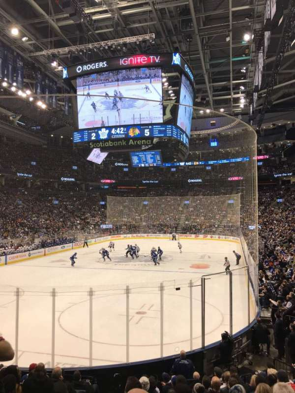 Scotiabank Arena, section: 112, row: 16, seat: 17