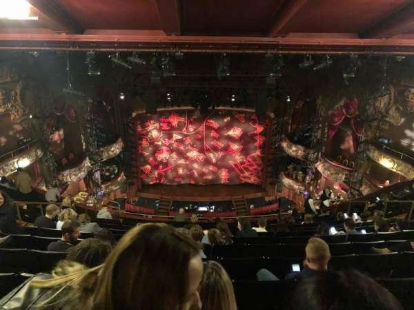 Lyceum Theatre (West End), section: Grand Circle, row: STD, seat: 17