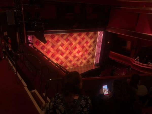 Adelphi Theatre, section: Upper Circle, row: D, seat: 36