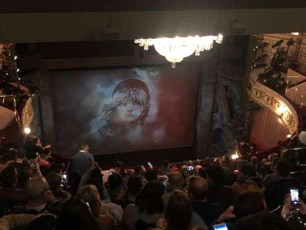 Sondheim Theatre (West End), section: Grand Circle, row: L, seat: 17