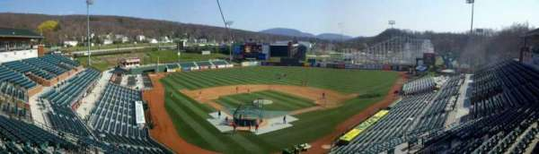 Peoples Natural Gas Field, section: Press Box