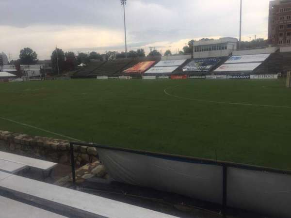 American Legion Memorial Stadium, section: 15R, row: F, seat: 13