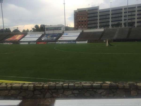 American Legion Memorial Stadium, section: 16L, row: F, seat: 4