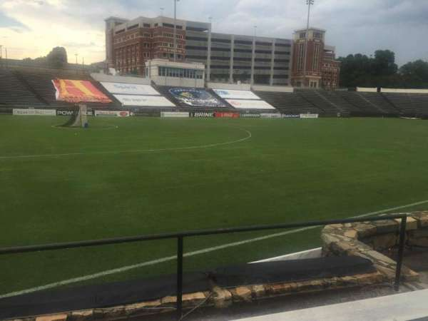 American Legion Memorial Stadium, section: 21L, row: F, seat: 14