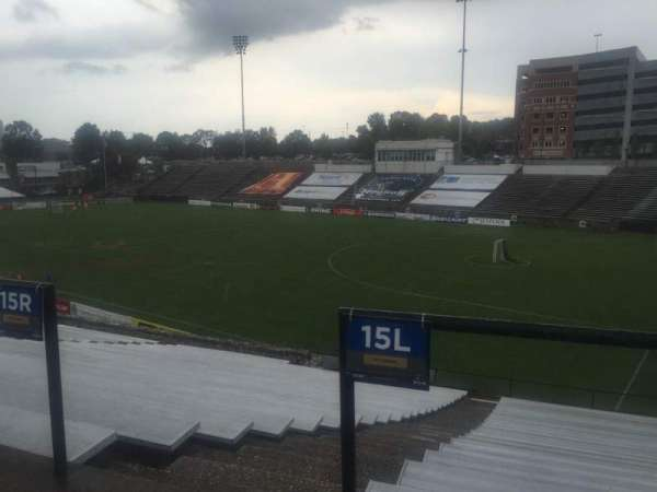 American Legion Memorial Stadium, section: 2, row: CC, seat: 11