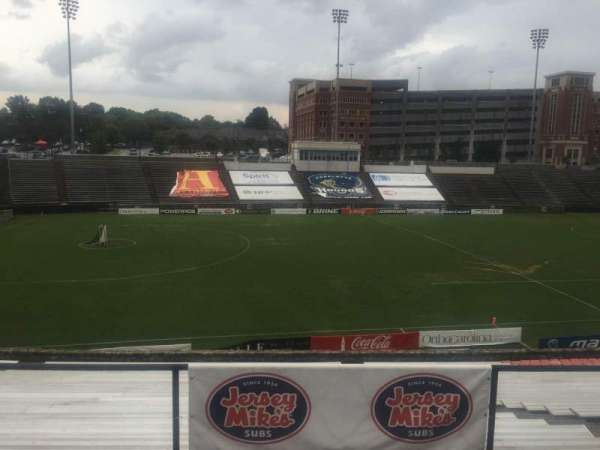 American Legion Memorial Stadium, section: 13, row: AS, seat: 2