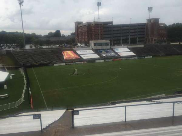 American Legion Memorial Stadium, section: 16, row: HH, seat: 17