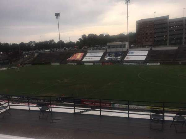 American Legion Memorial Stadium, section: 3, row: FF, seat: 30