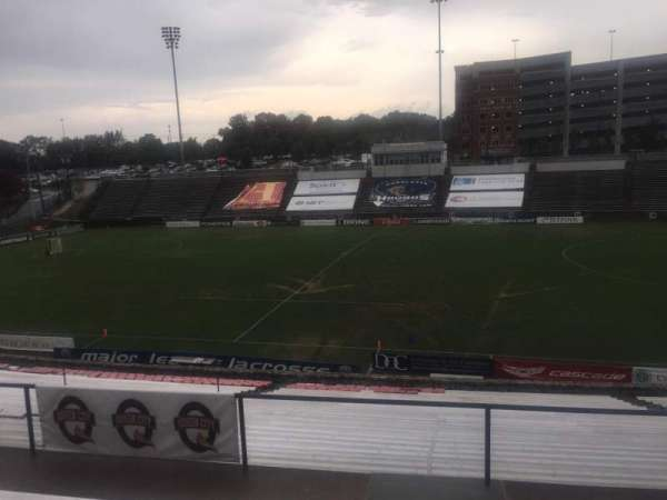 American Legion Memorial Stadium, section: 4, row: FF, seat: 41