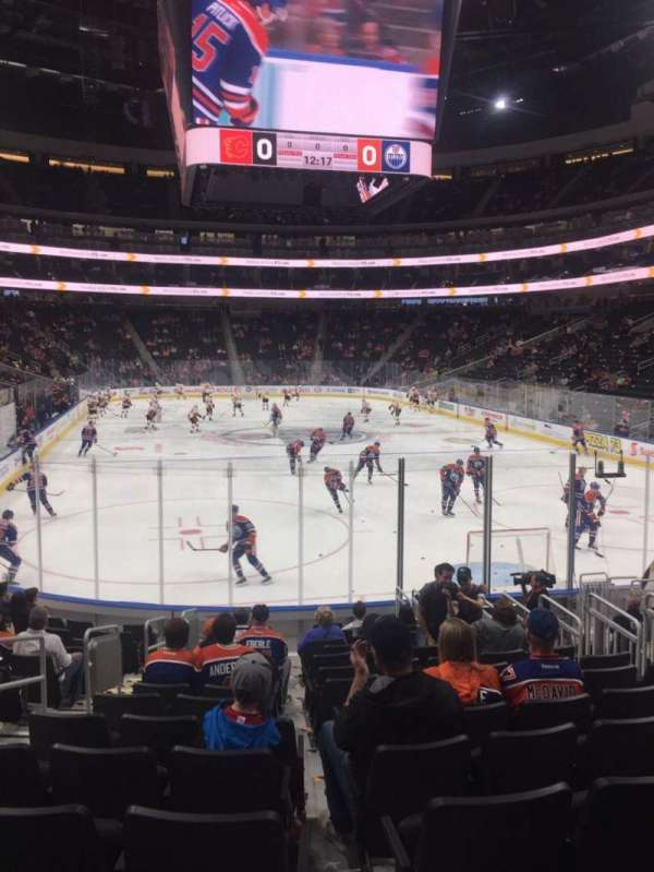 Rogers Place, section: 129, row: 14, seat: 14