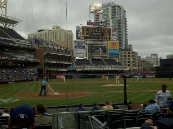 PETCO Park, section: 103, row: 11, seat: 11