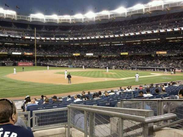 Yankee Stadium, section: 127b, row: 16, seat: 3