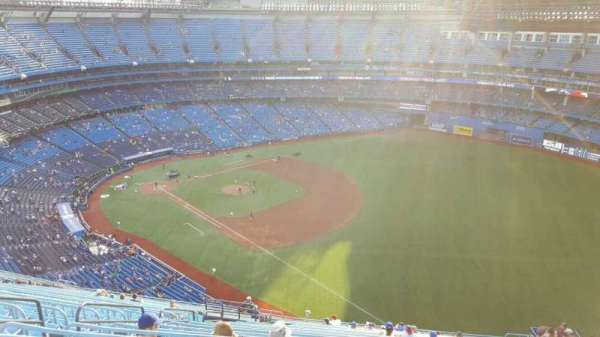 Rogers Centre, section: 513R, row: 27, seat: 4