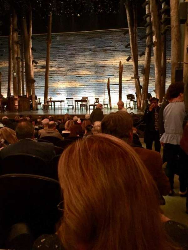 Gerald Schoenfeld Theatre, section: Orchestra C, row: M, seat: 114