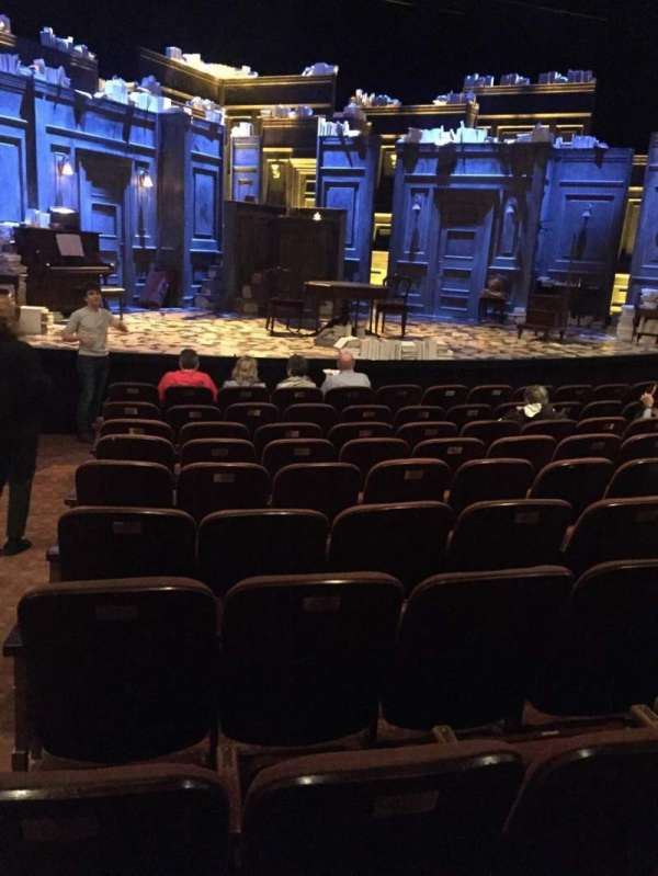 American Airlines Theatre, section: Center orchestra, row: K, seat: 116