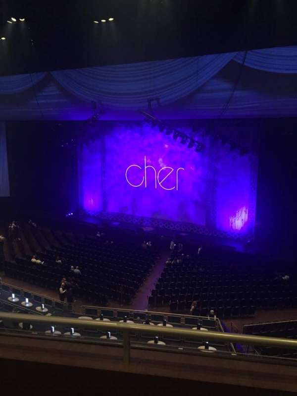 Park Theater at Park MGM, section: 403, row: B, seat: 10