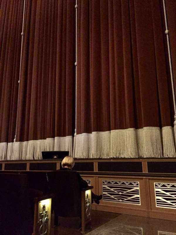 Reynolds Hall at The Smith Center, section: Right Orchestra, row: B, seat: 301
