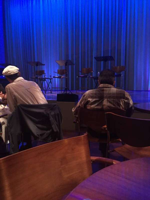 Myron's Cabaret Jazz at The Smith Center, section: Floor, row: 56, seat: A