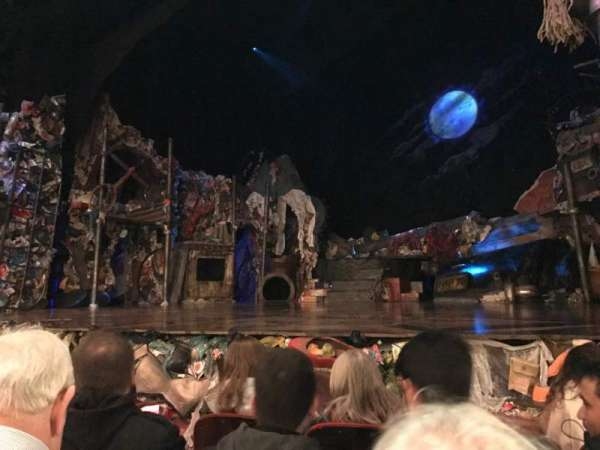 Neil Simon Theatre, section: Orchestra, row: E, seat: 8