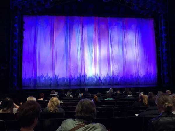 Marquis Theatre, section: Orchestra C, row: K, seat: 108