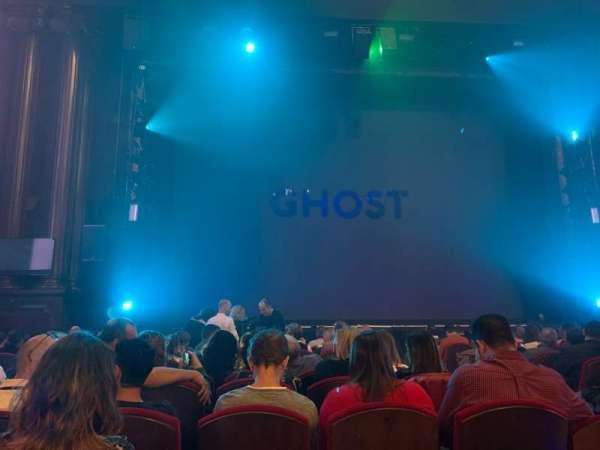 Teatro EDP Gran Vía, section: Butacas, row: 14, seat: 7