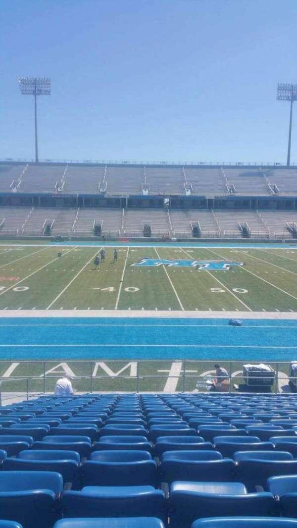 Johnny Red Floyd Stadium, section: 1S, row: 17, seat: bleacher