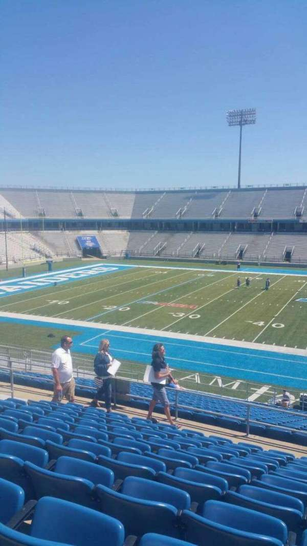 Johnny Red Floyd Stadium, section: 1RR, row: 10, seat: 13