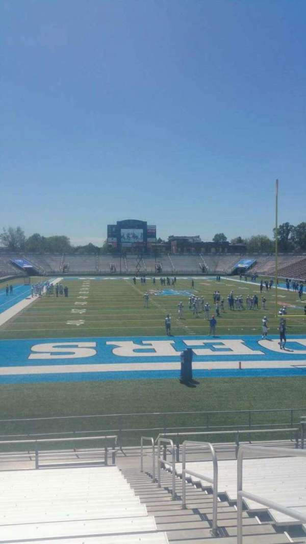 Johnny Red Floyd Stadium, section: 1A, row: 18, seat: 2
