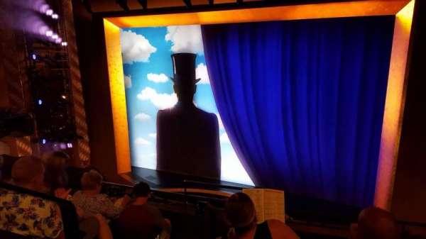 Lunt-Fontanne Theatre, section: Front Mezzanine R, row: D, seat: 4